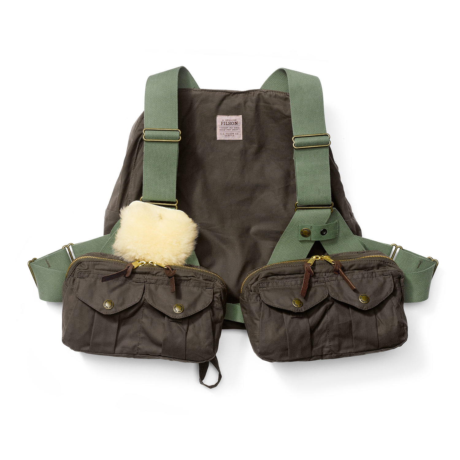Filson Foul weather flyfishing vest #16002 2