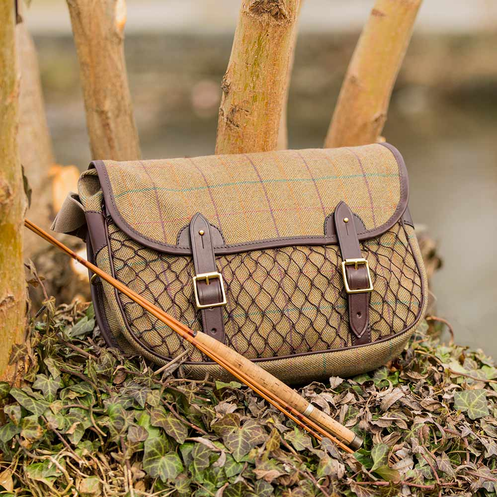 Eine schöne Handtasche aus Tweed