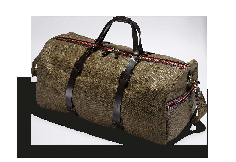 Große Vintage Reisetasche Duffle Holdall