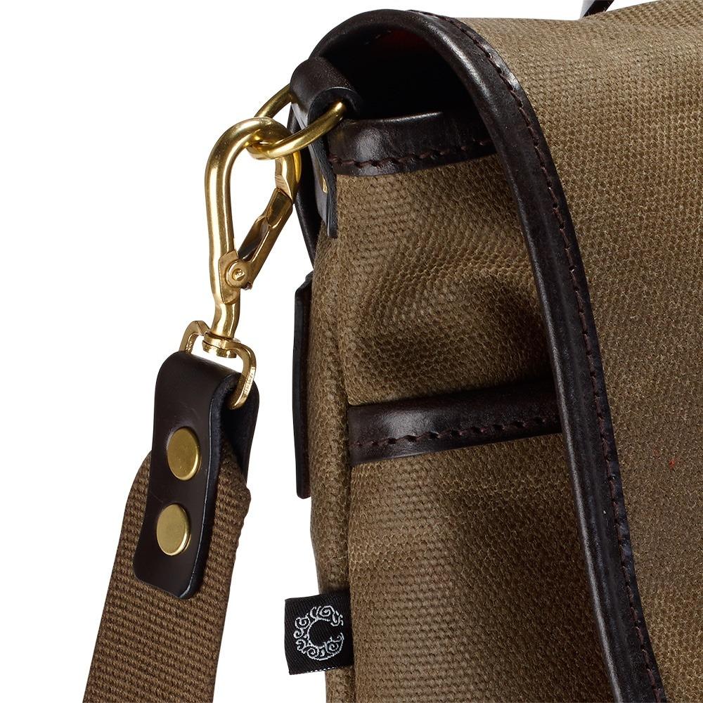Croots Vintage Range Casual Messenger bag, olive 4