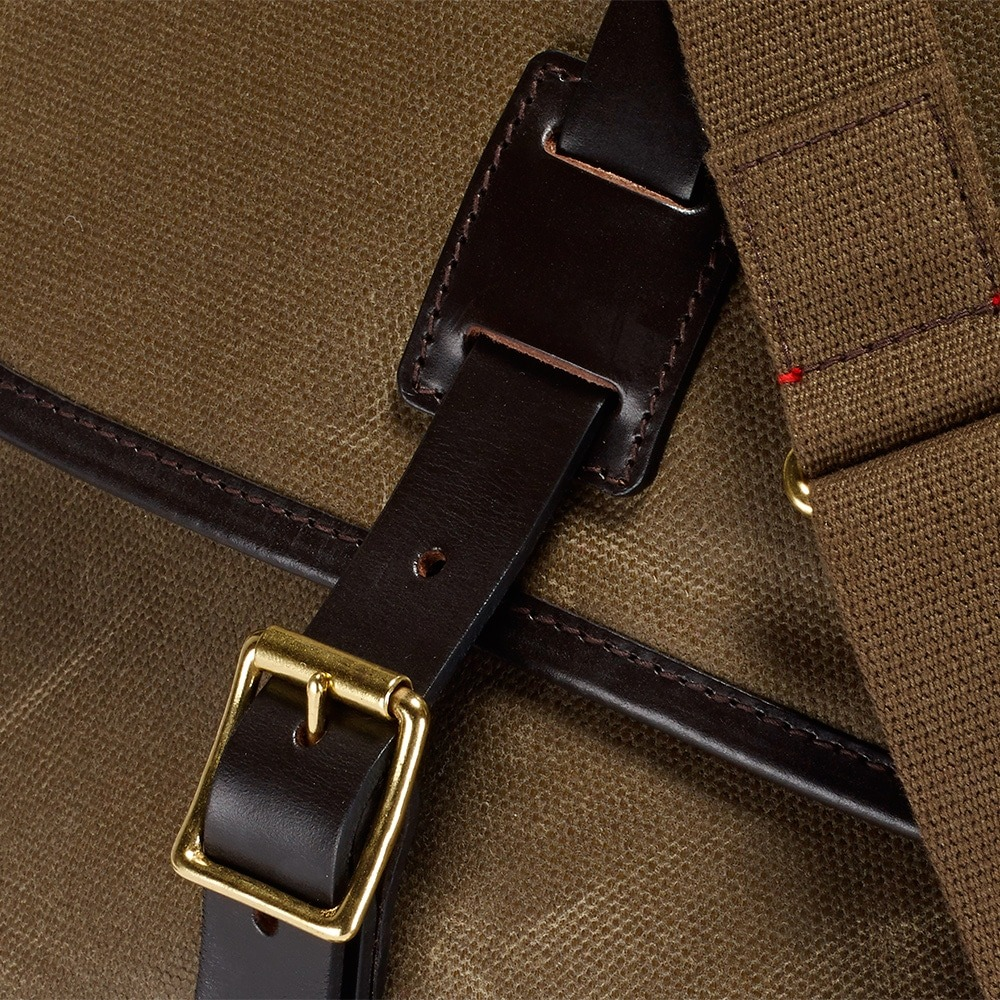 Croots Vintage Range Casual Messenger bag, olive 3