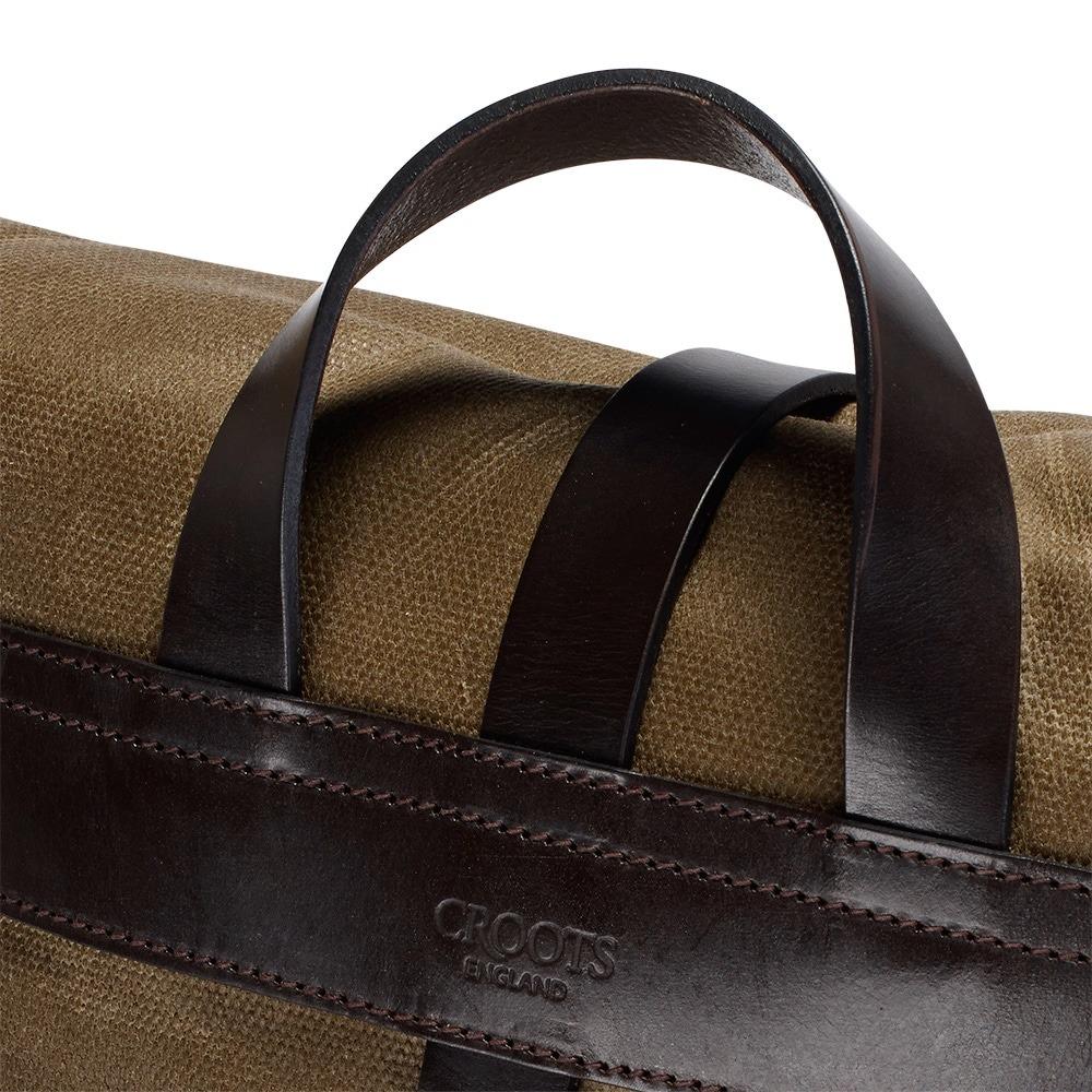 Croots Vintage Range Casual Messenger bag, olive 2