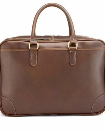 Tusting Travel Briefcase Reisetasche aus Leder