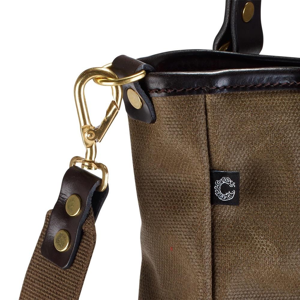 Croots Vintage Tote bag Range, olive 2