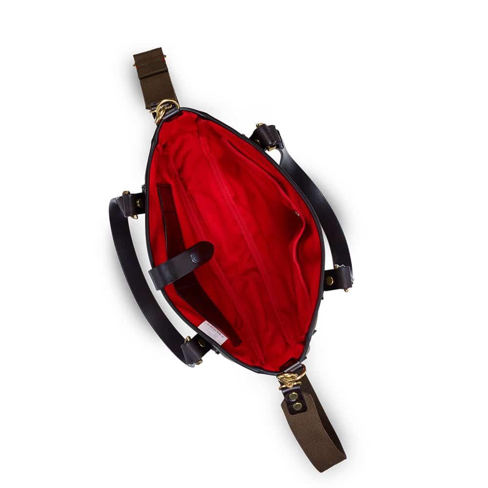 Croots Vintage Tote bag Range, olive 3
