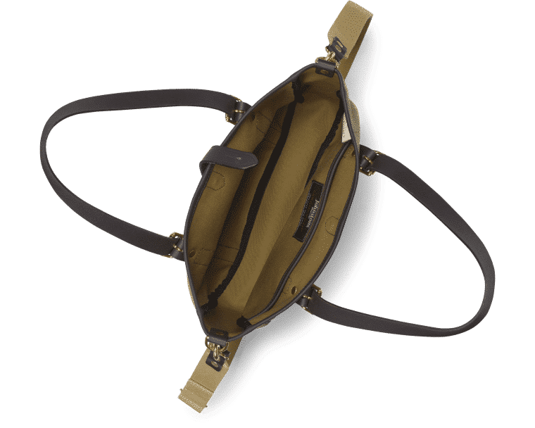 Croots Helmsley Tweed Tote bag, olive 3