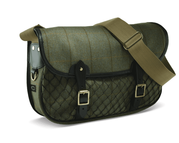 Croots Helmsley Netted Carryall, green 1