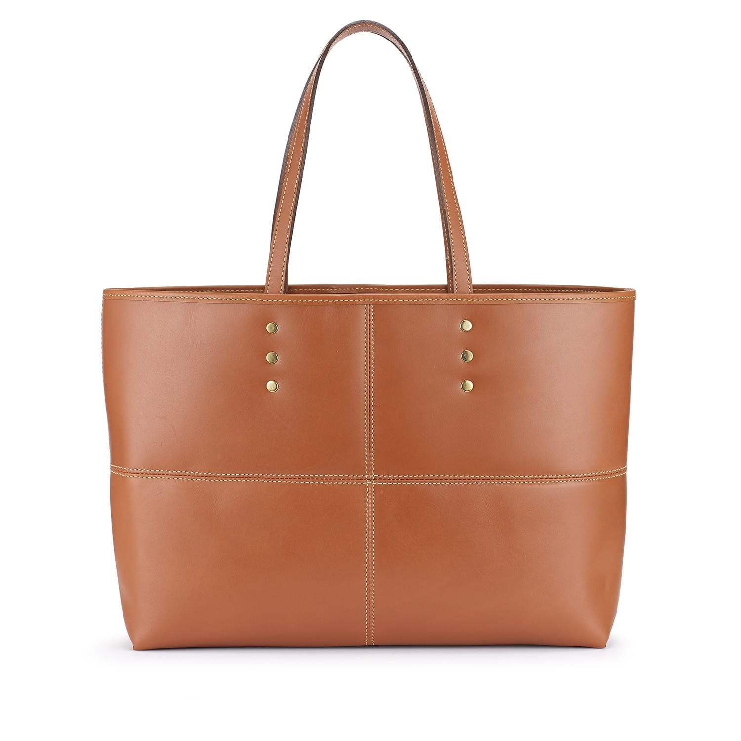 Tusting Ashton Tote bag, Leder, tan 1