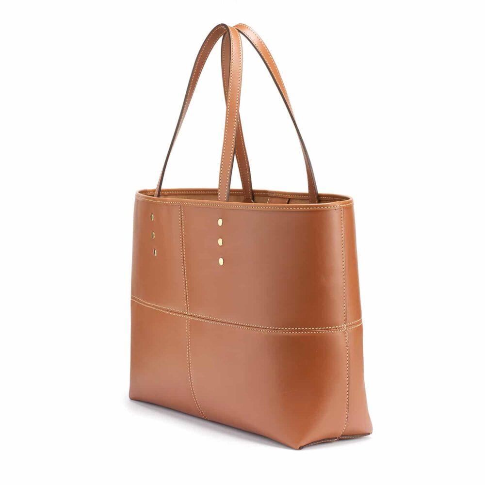 Tusting Ashton Tote bag, Leder, tan 3