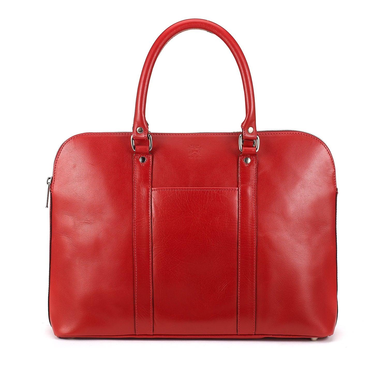 Handtasche Donna von Tusting in der Farbe Red Atlantic