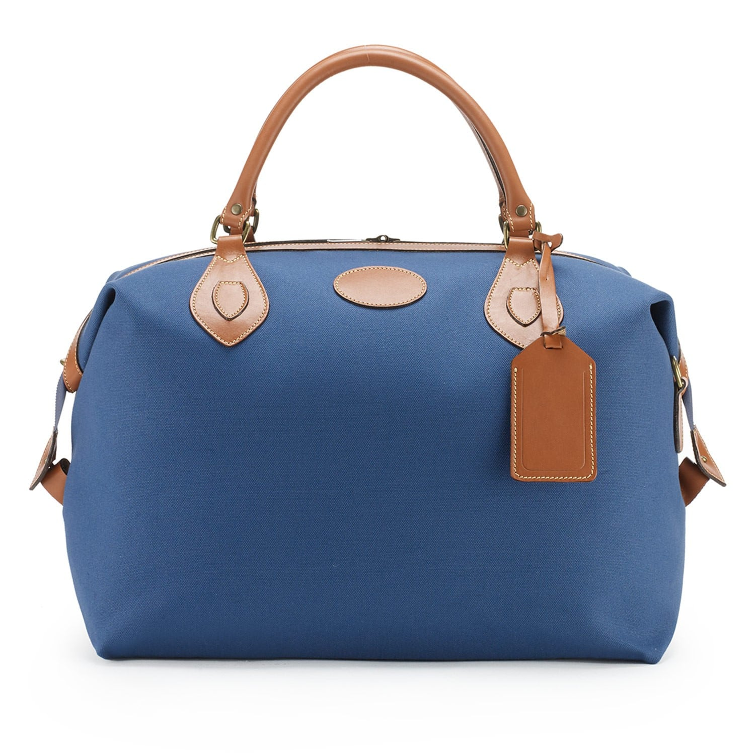 Tusting Explorer Tasche, medium, denim blue 1