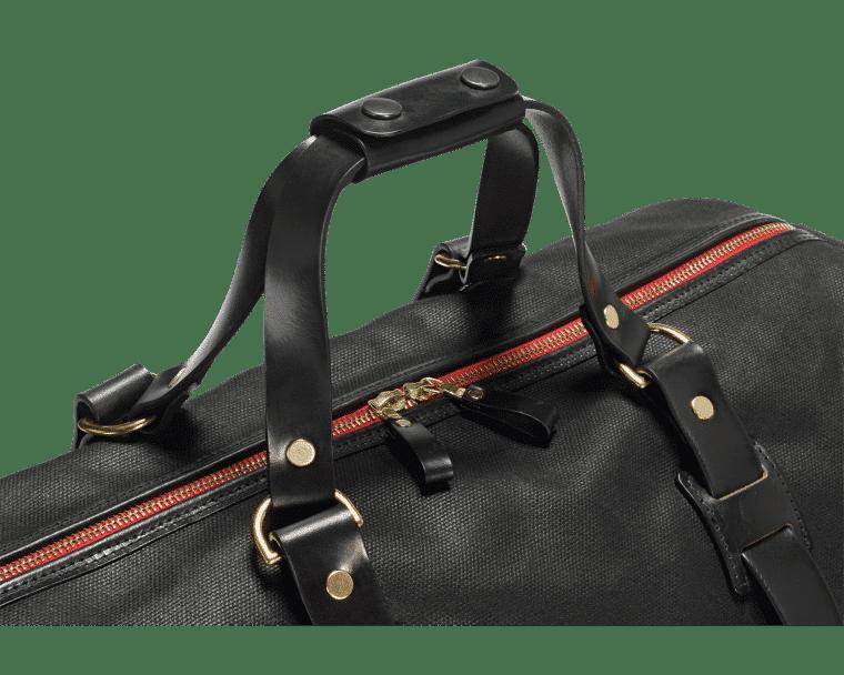 Croots Vintage Range Duffle holdall, black 3