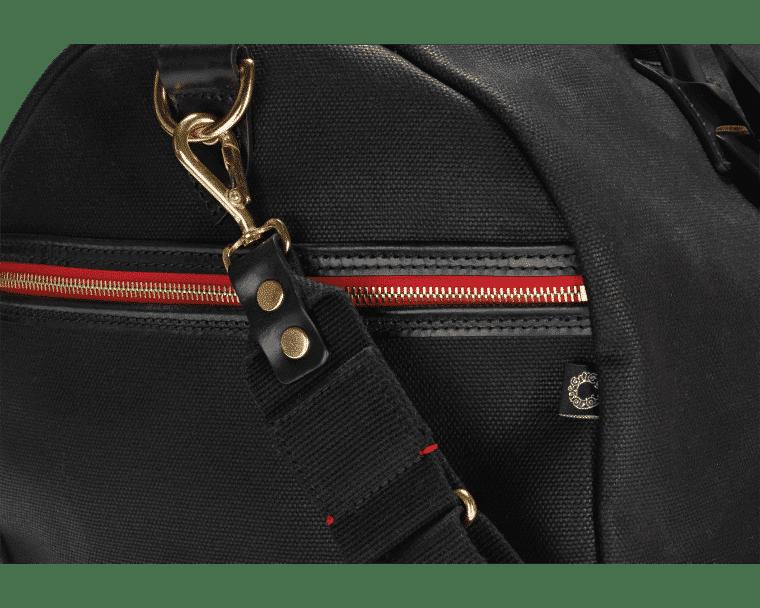 Croots Vintage Range Sportsman bag, black 6