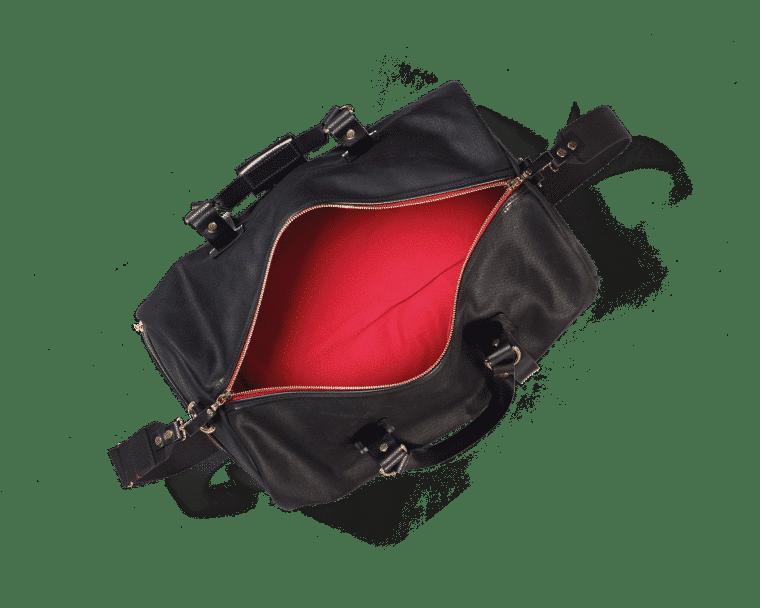 Croots Vintage Duffle holdall, 2er Set, black 2