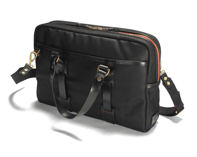 Croots Vintage Laptop Tasche Range, black 1