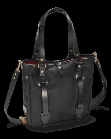 Abbildung der Vintage Range Tote Bag in der Frontalansicht.