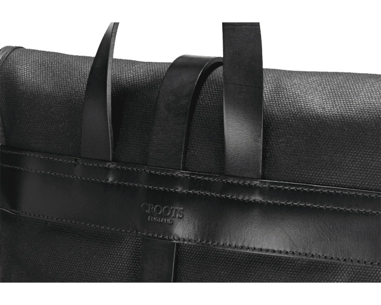 Croots Vintage Range Casual Messenger bag, black 4