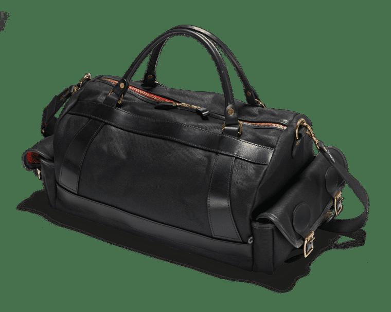 Croots Vintage Range Sportsman bag, black 1