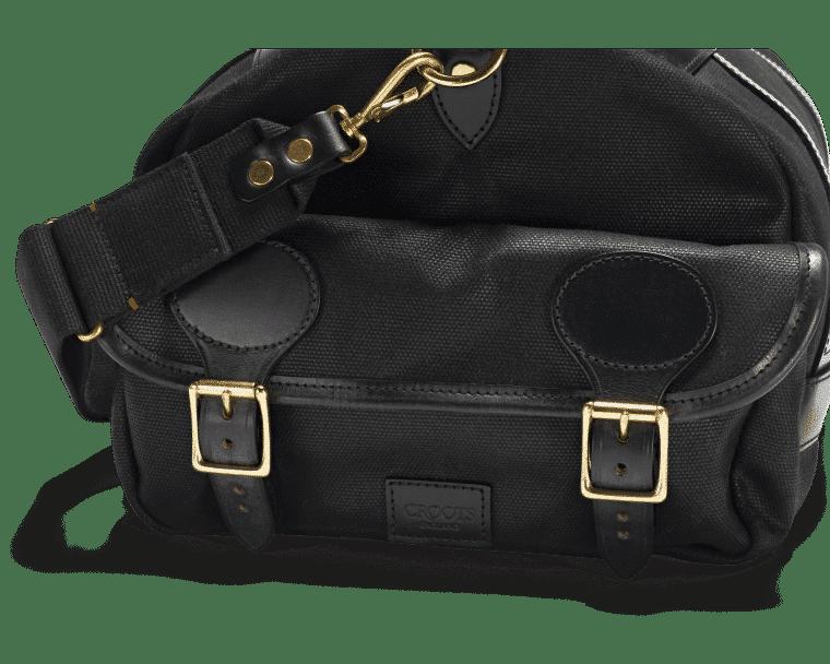 Croots Vintage Range Sportsman bag, black 5