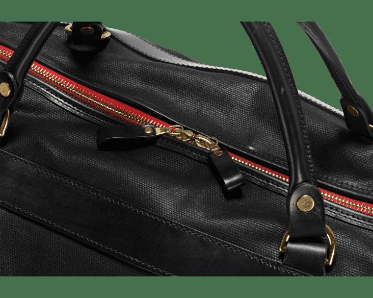 Croots Vintage Range Sportsman bag, black 4