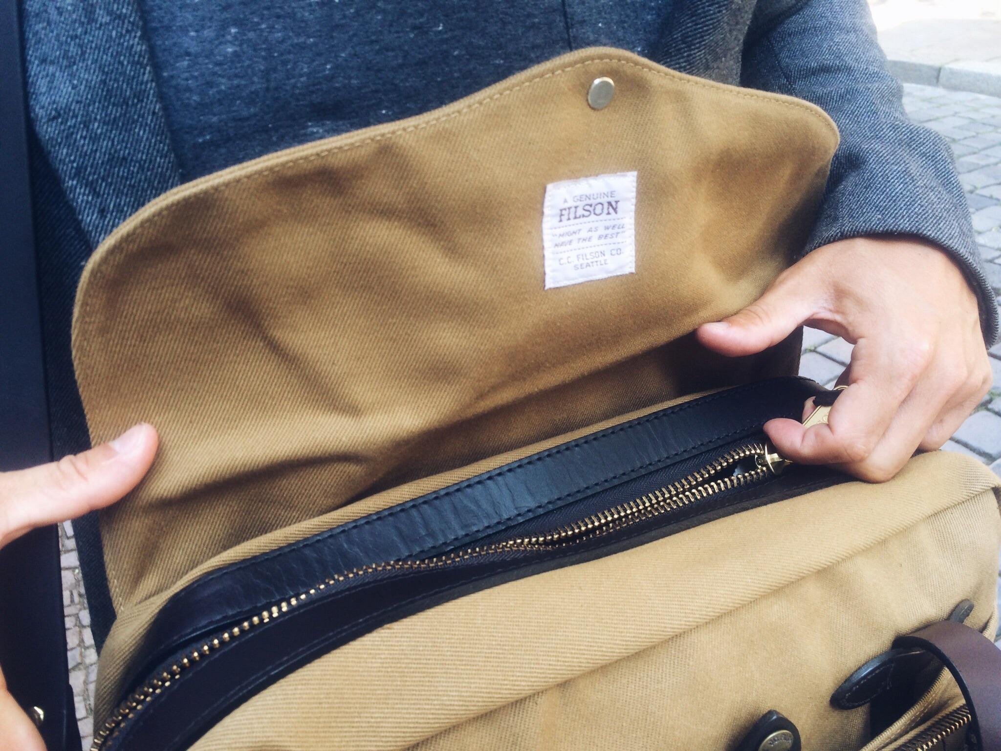 Filson Briefcase Computer Bag: Was diese Tasche so aussergewöhnlich macht 2