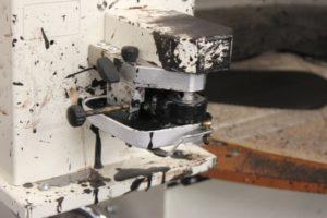Eine weitere Maschine für die Bearbeitung