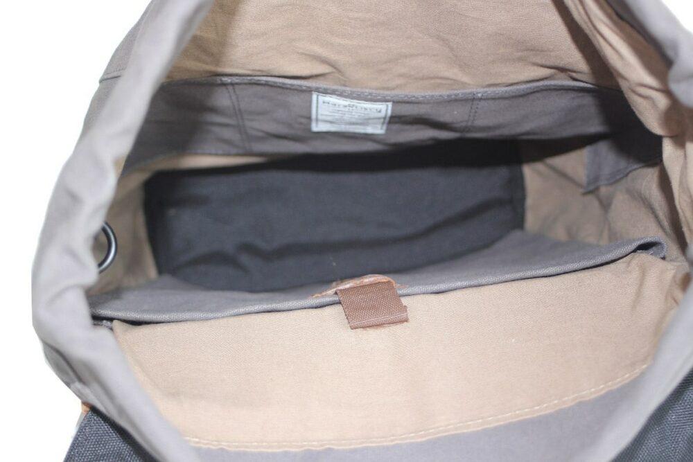 Bandir 2 Canvas grey innen