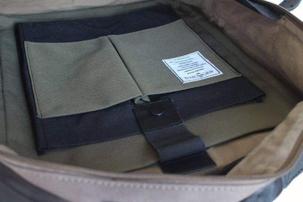 Cityrucksack Pindi 2 canvas grey innen