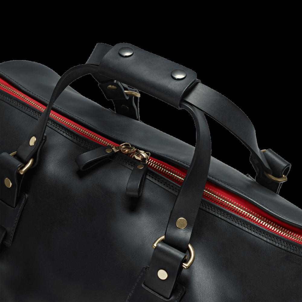 Reisetasche Vintage Leder Holdall 3
