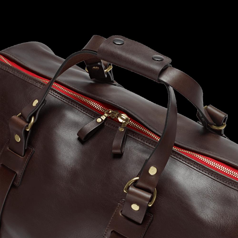 Reisetasche Vintage Leder Holdall 1