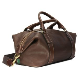 Captain´s Holdall in Chestnut braunem Leder