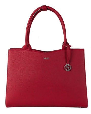 Business Tasche Straight Line Red Front