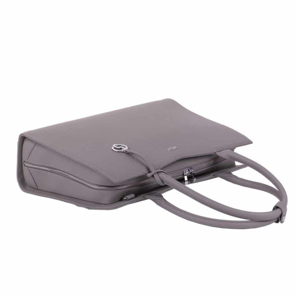 Businesstasche Straight Line grey liegend