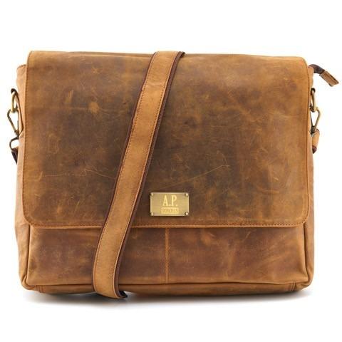 Notebooktasche Braun 15 Zoll