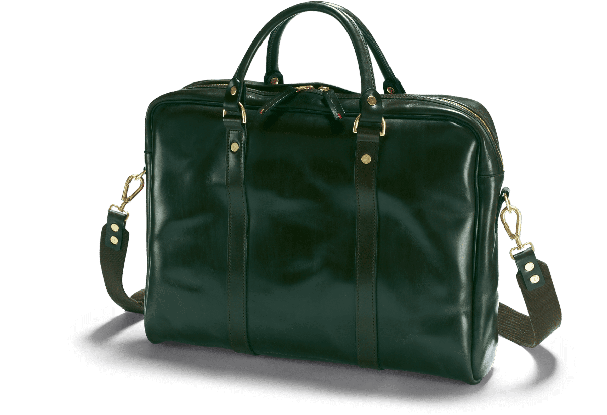 Die Malton Laptop Tasche in aufregendem Racing Green
