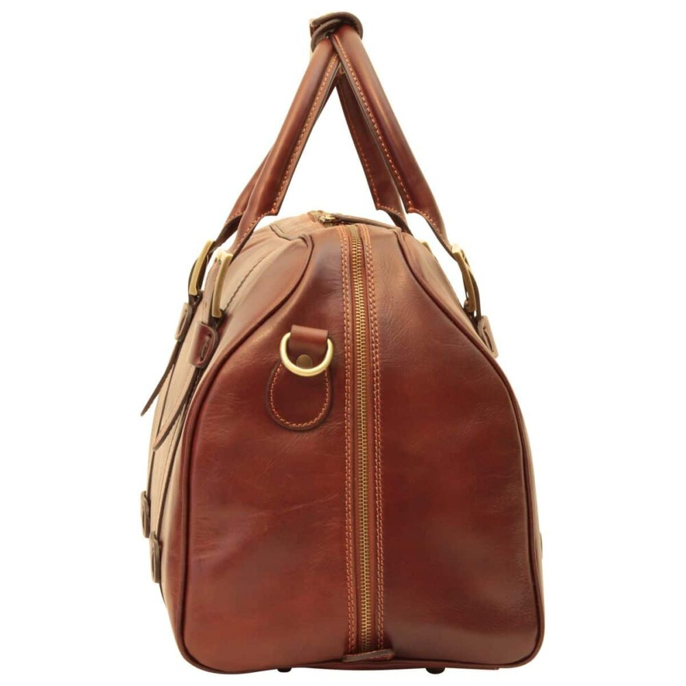 Seite Duffle Bag Old Anger braun