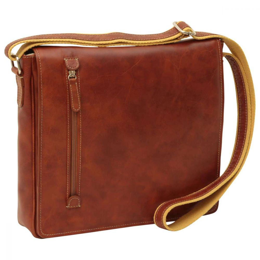 Front Messenger New World Collection Chestnut