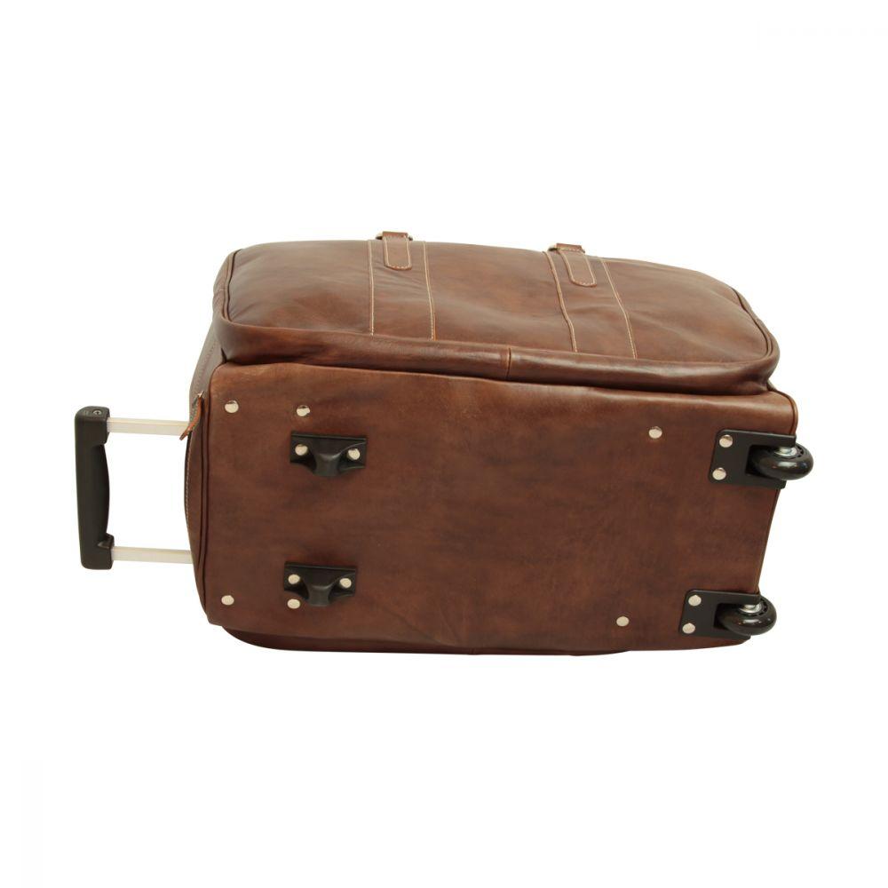 Boden Reisetasche New World Collection Dunkelbraun