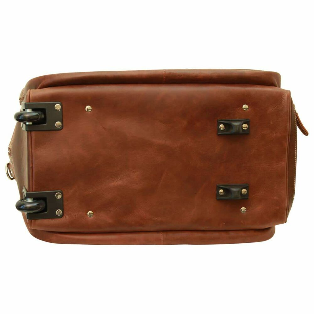 Bodenansicht Reisetasche New World Collection Chestnut